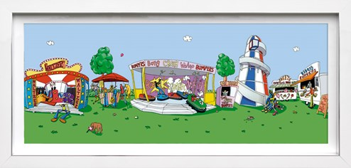 Fair Play by Dylan Izaak - Framed Hand Finished Limited Edition on Paper